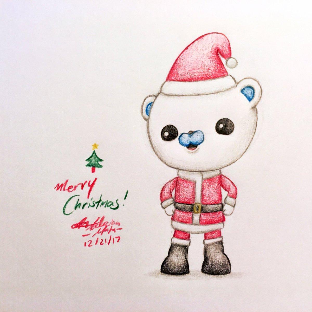 Octonaut Christmas.Adrian Mata On Twitter Santa Barnacles Wishes You A