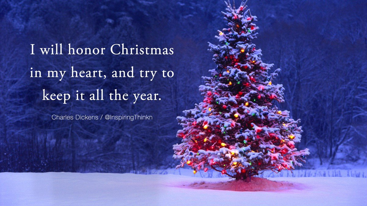 i will honor christmas in my heart and try to keep it all the year - Christmas In My Heart