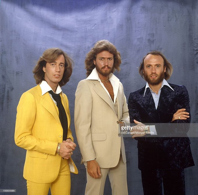 Happy Birthday to Robin Gibb(far right) and Maurice Gibb(far left), @ who both would have been 68 today!
