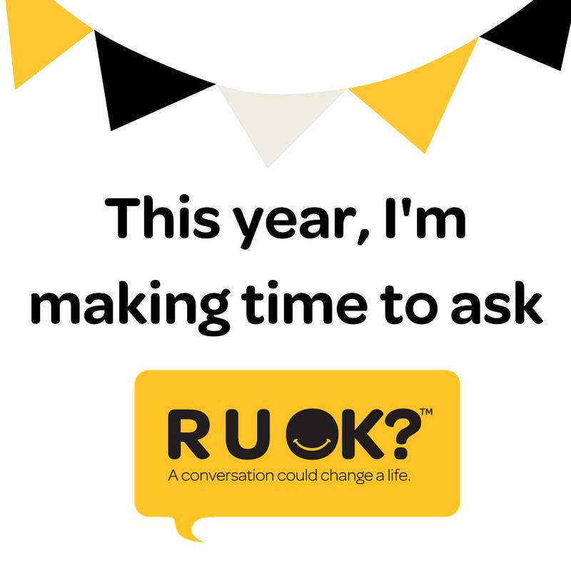 R U OK? on Twitter: \