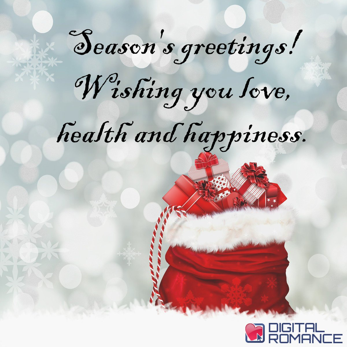 Digital Romance Inc On Twitter Seasons Greetings Wishing You
