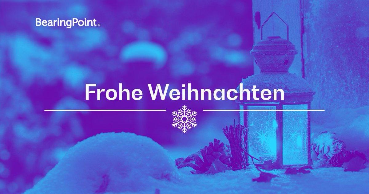 Frohe Weihnachten Liebe.Bearingpoint Dach On Twitter Liebe Kundinnen Und Kunden