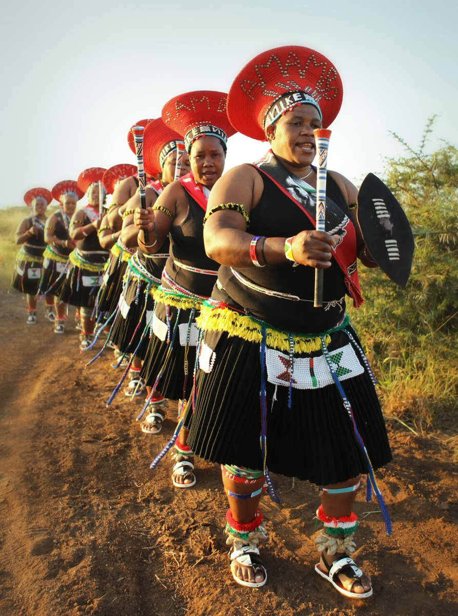 Thanda on Twitter: The Zulus hold ceremonies every year