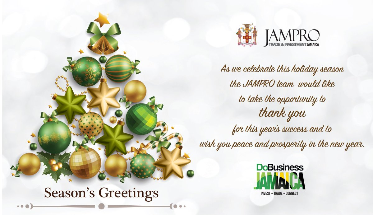 Jampro Jamaica On Twitter Happy Holidays From Jampro Thank You