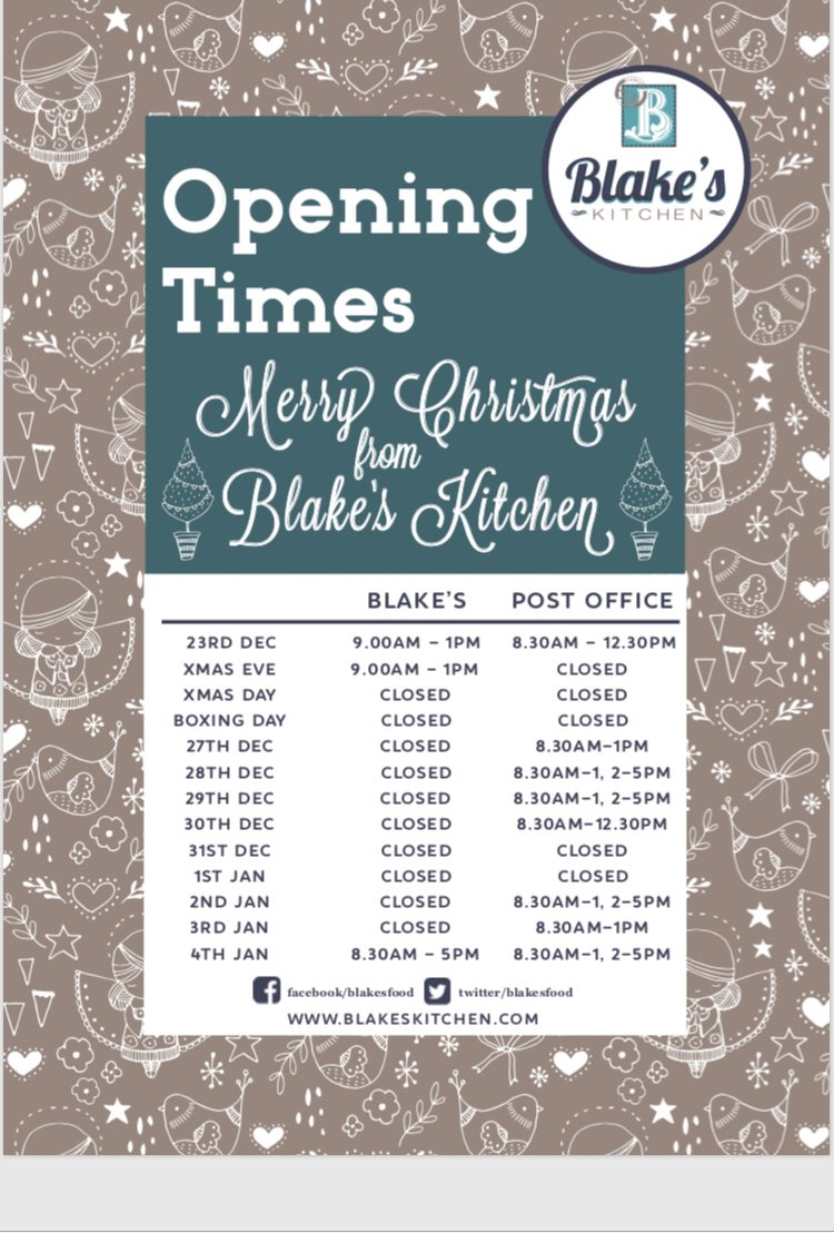 Blake\'s Kitchen on Twitter: \