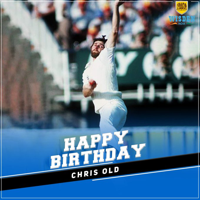 Happy Birthday to former England bowler Chris Old.