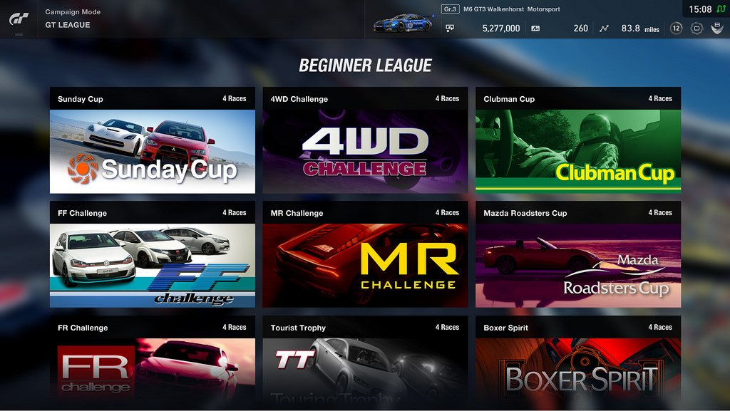 GT Sport GT League