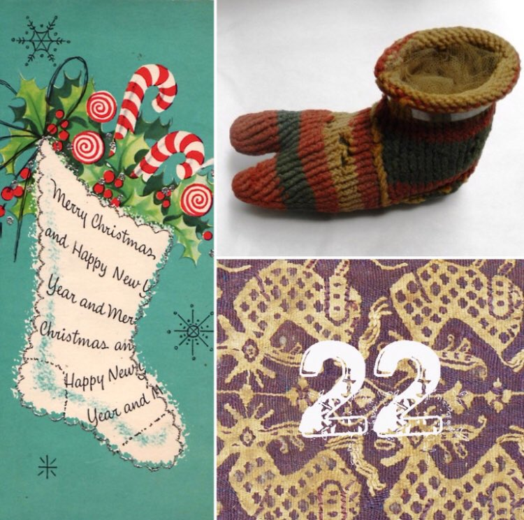 Manchester Museum On Twitter Day 22 A Coptic Christmas Stocking