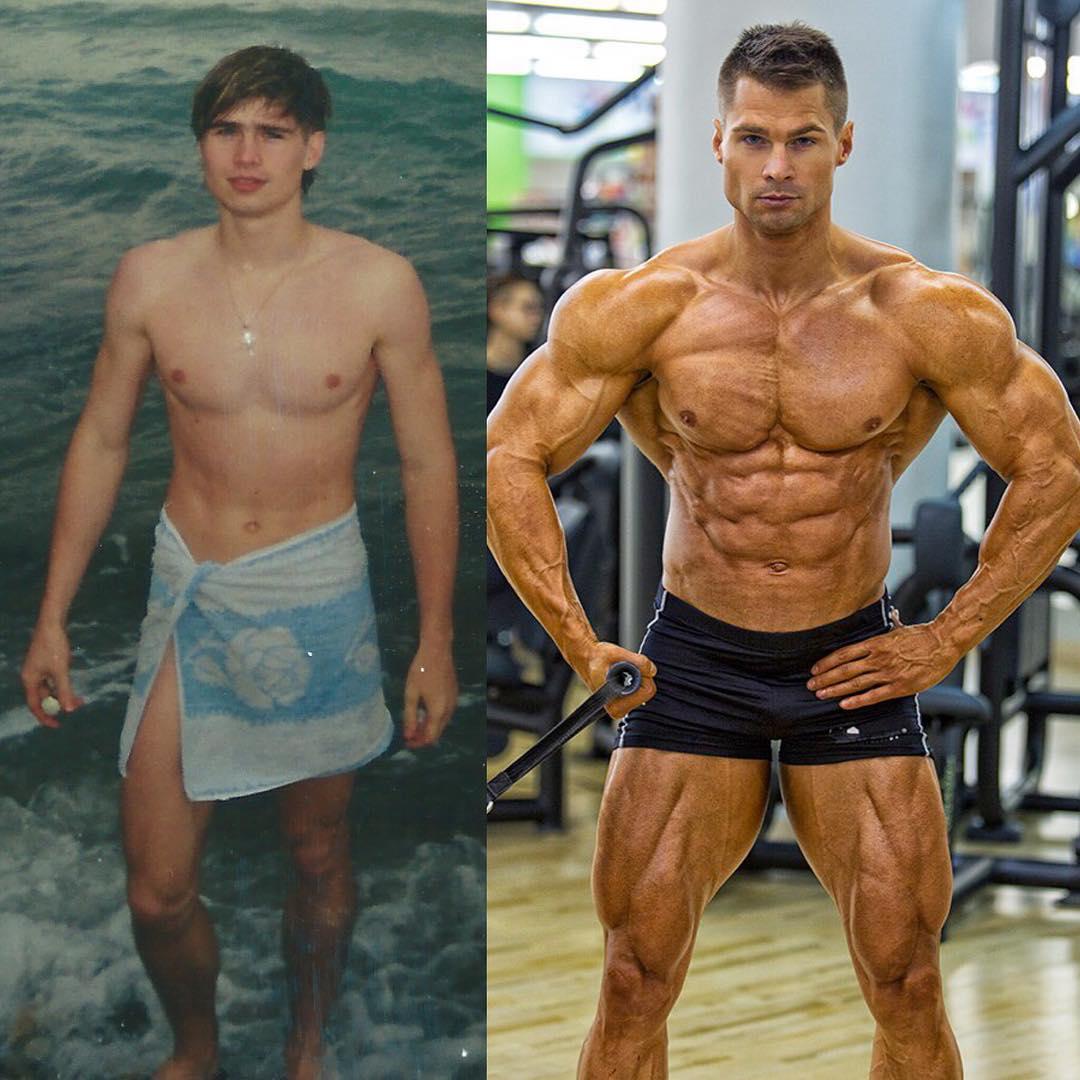 Фото атлетов без стероидов