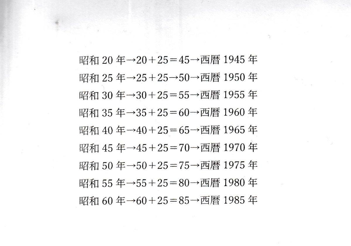 西暦 年 昭和 62