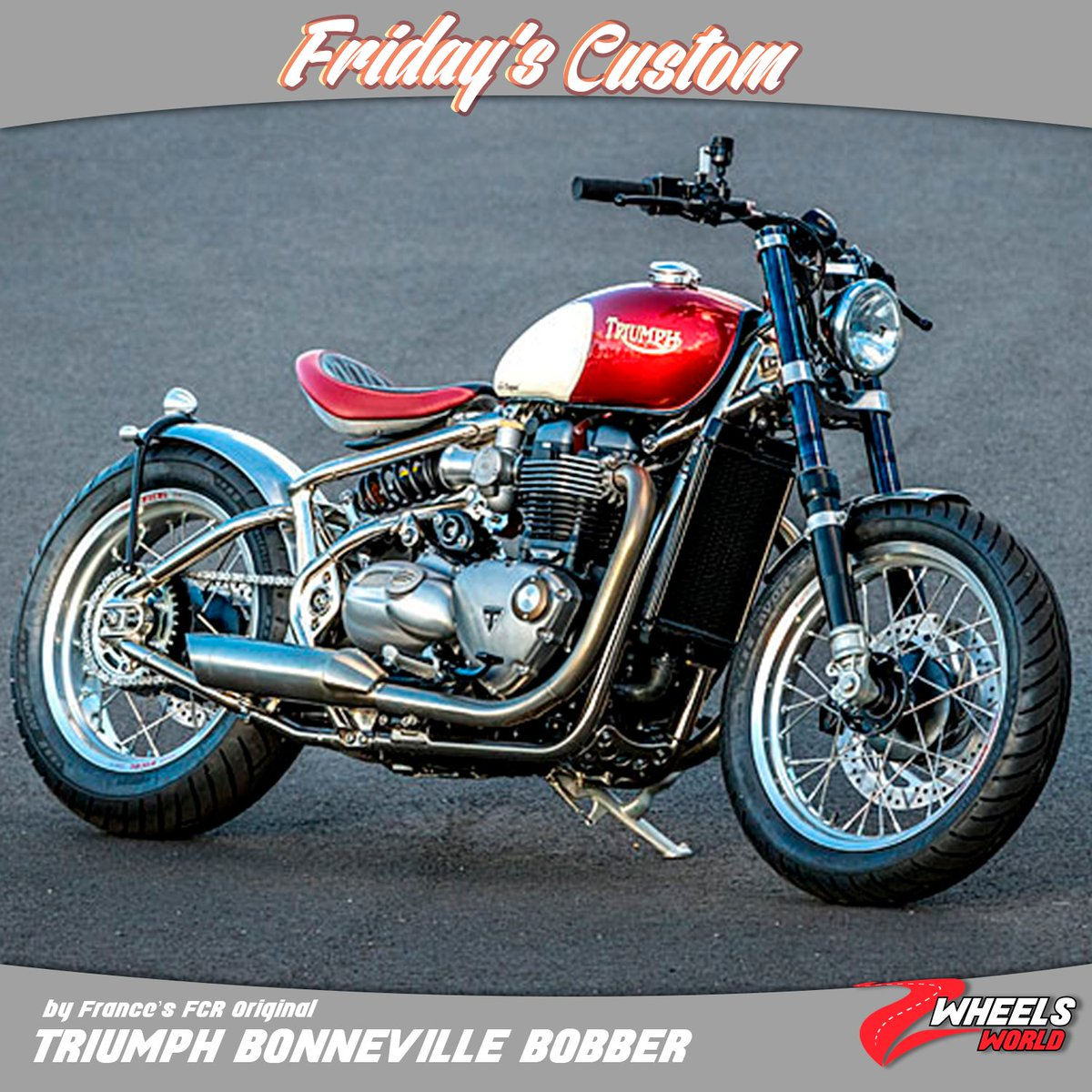 Pure Triumph On Twitter Friday Custom Introducing An Authentic
