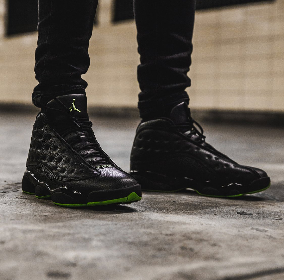 wholesale dealer 37da7 3e222 Here s a great on-foot look at the Air Jordan 13 Retro
