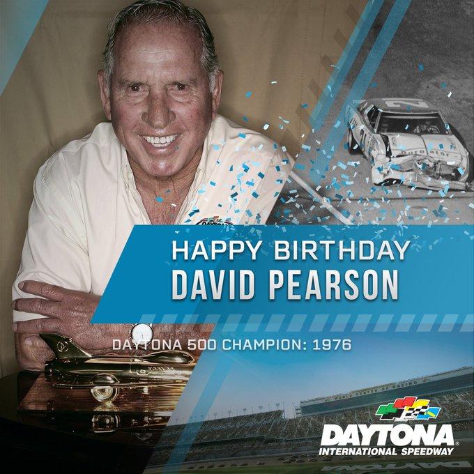 Happy Birthday to the 1976 Champion David Pearson!