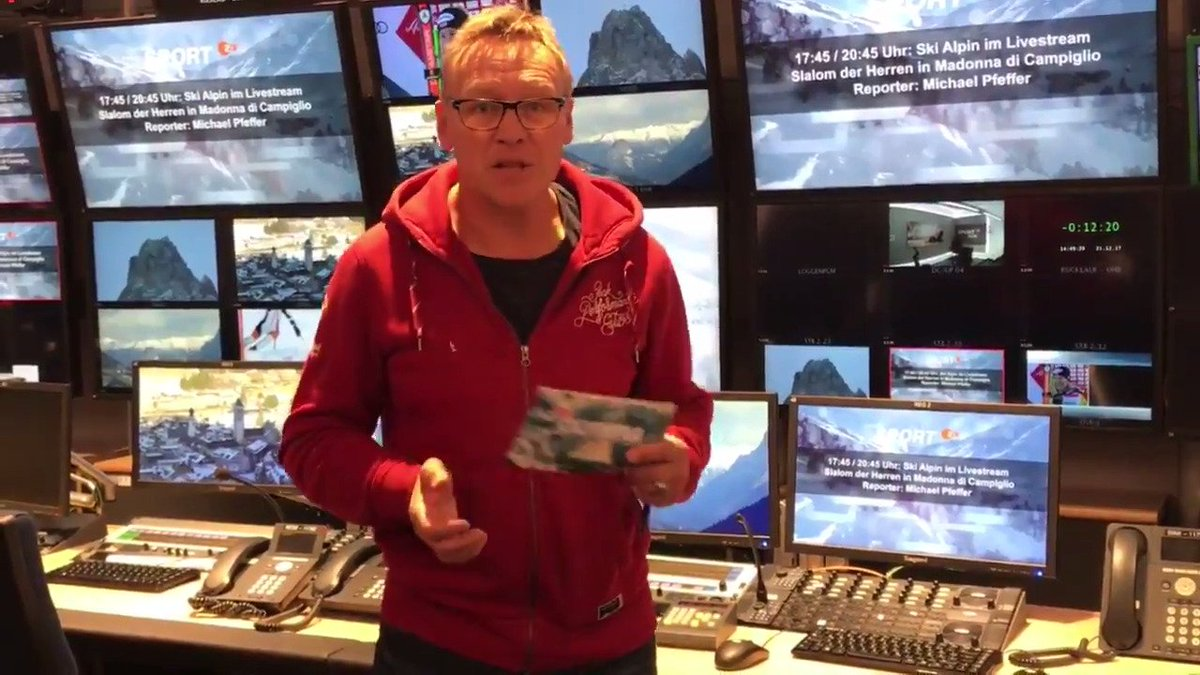 Zdf Sport On Twitter Spektakel Garantiert Beim Slalom Der Alpinen