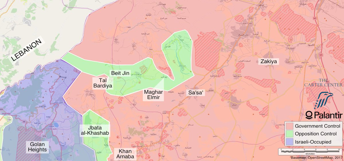 Hampton stall on twitter two other maps from the report beit jinn situation after pro government and isis advances this week both maps are dated december 20 gumiabroncs Gallery