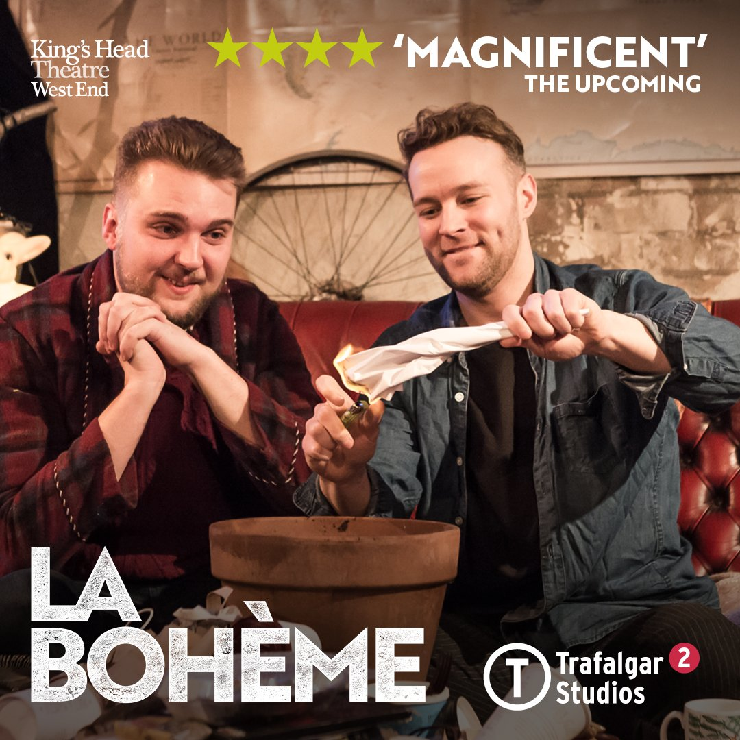 kings head theatre on twitter getting bored at home this christmas our laboheme khtwestend transfer is back trafstudios from tonight - Christmas Shows Tonight