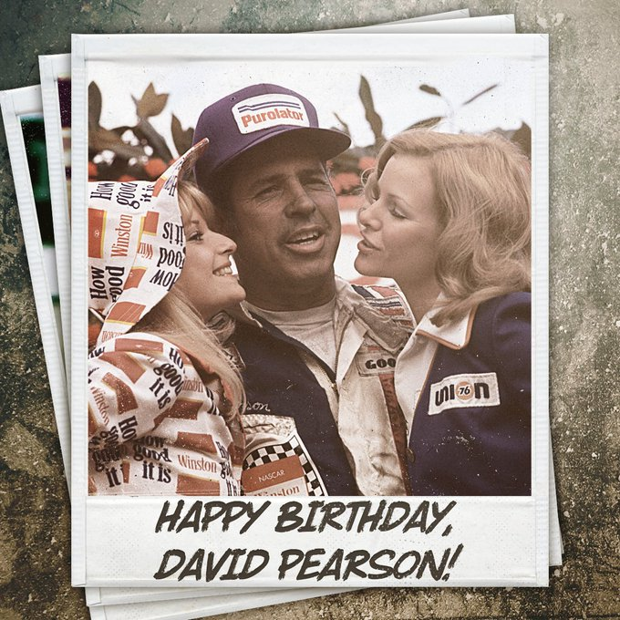 """Happy birthday to \""""The Silver Fox,\"""" David Pearson, who turns 83 today!"""