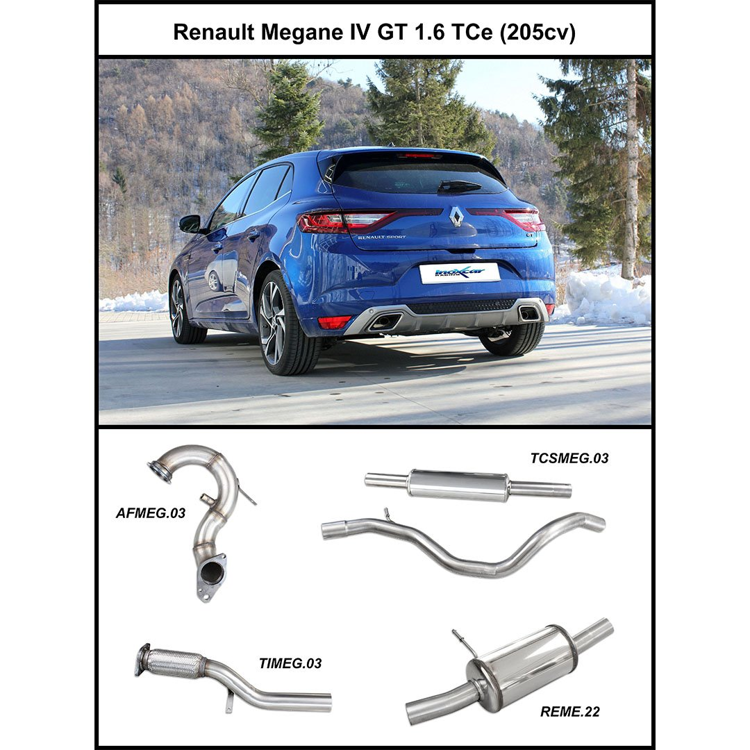 Inoxcar On Twitter New Exhaust System For Renault Megane Iv Gt 1 6 Tce 205hp By Inoxcarracing Https T Co 3g4dli6tox News Megane Gt Racing Tuning Tuningcars Tuningshop Shop Motorsport Automotive Exhaust Performance Https T Co