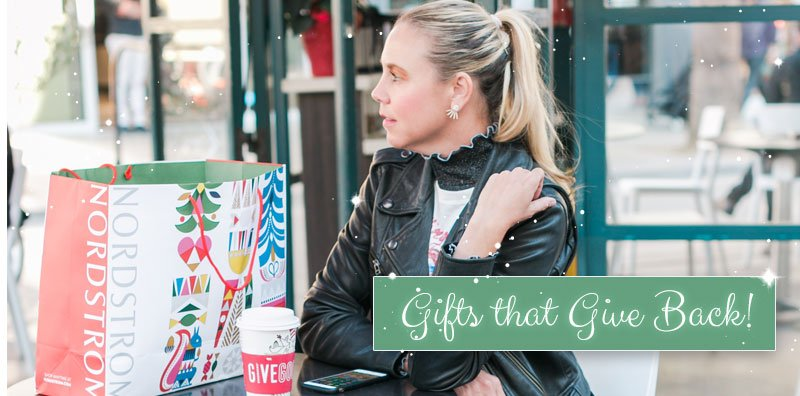 Gifts that Give Back!  Every holiday season I am reminded of how fortunate I am for my family and loved ones. Ju...
