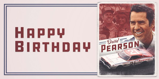 \The Silver Fox\ turns 83 years young today!  Join us in wishing NASCARHall inductee David Pearson a Happy Birthday.