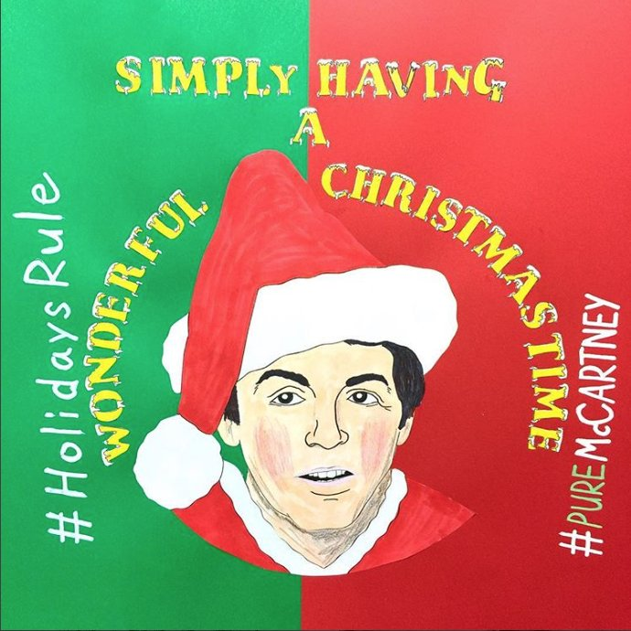 beatle no5 on twitter im simply having a wonderful christmastime - Simply Having A Wonderful Christmas Time