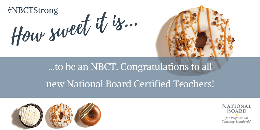 National Board On Twitter Congratulations To All Candidates We