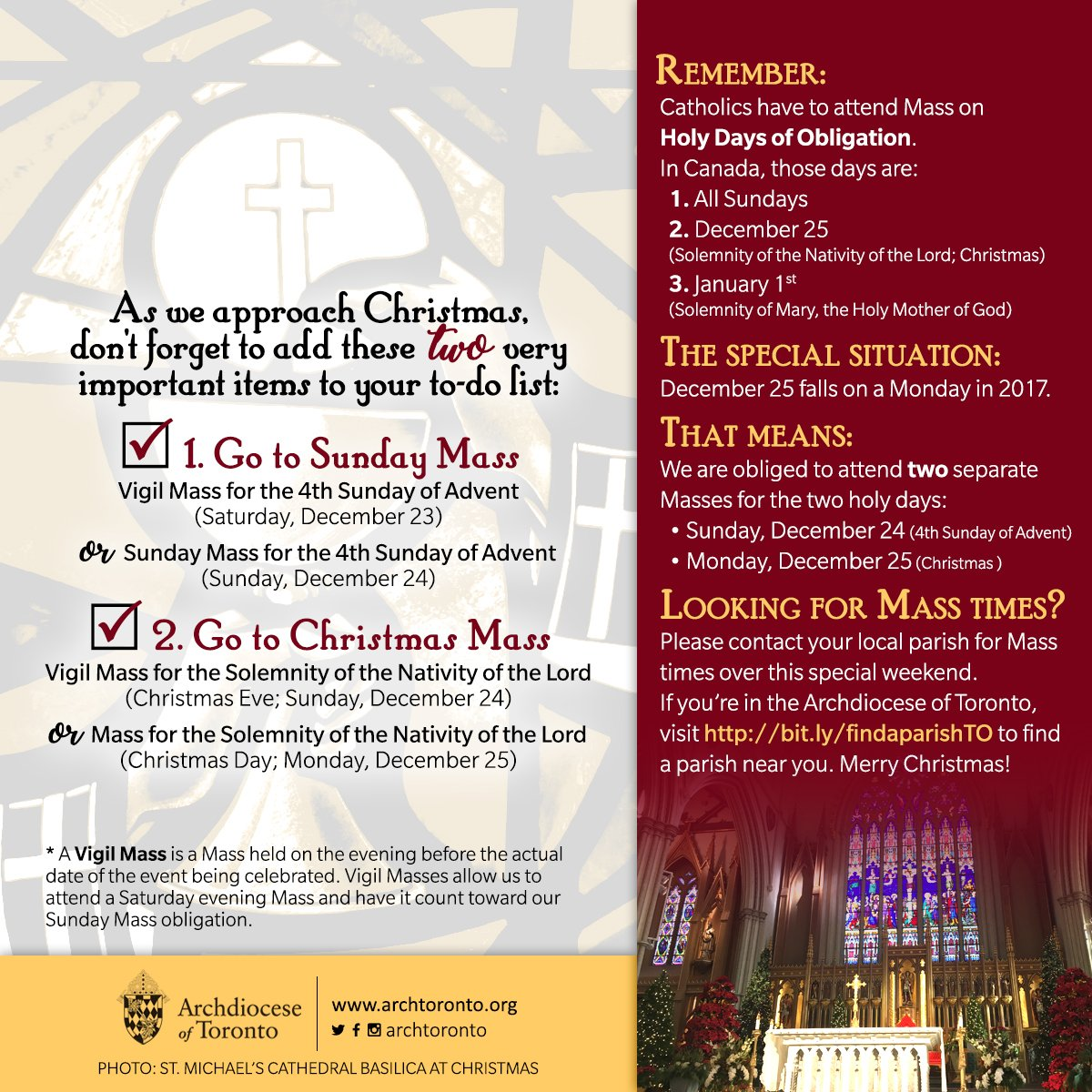 Archdiocese of Toronto on Twitter: \