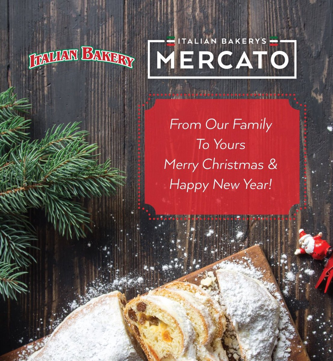 ital bakery mercato on twitter merry christmas happy new year from the italian bakerys mercato team t8n shopt8n yeg merrychristmas - Merry Christmas And Happy New Year In Italian
