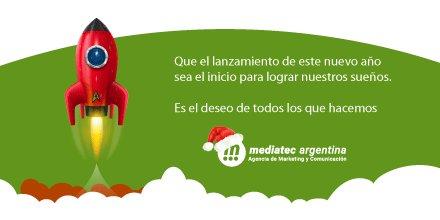 Muy Felices Fiestas y un gran 2018! Saludos cordiales. Equipo de @MediatecArgen  #felicesfiestas #nuevoaño2018 #navidad2017 #saludofindeaño https://t.co/K6sP9MCPvf