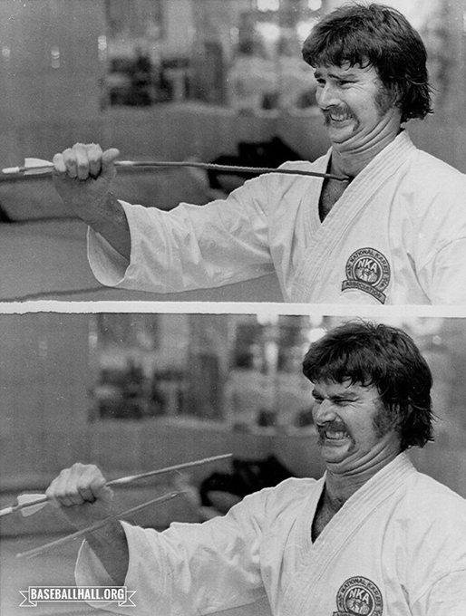 Happy Birthday to Steve Carlton, Martial Artist.