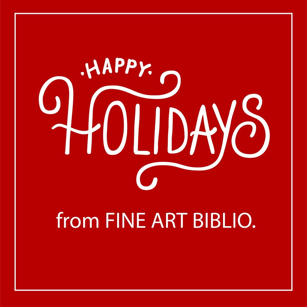 Fine Art Biblio On Twitter Fine Art Biblio Wishes You And Your