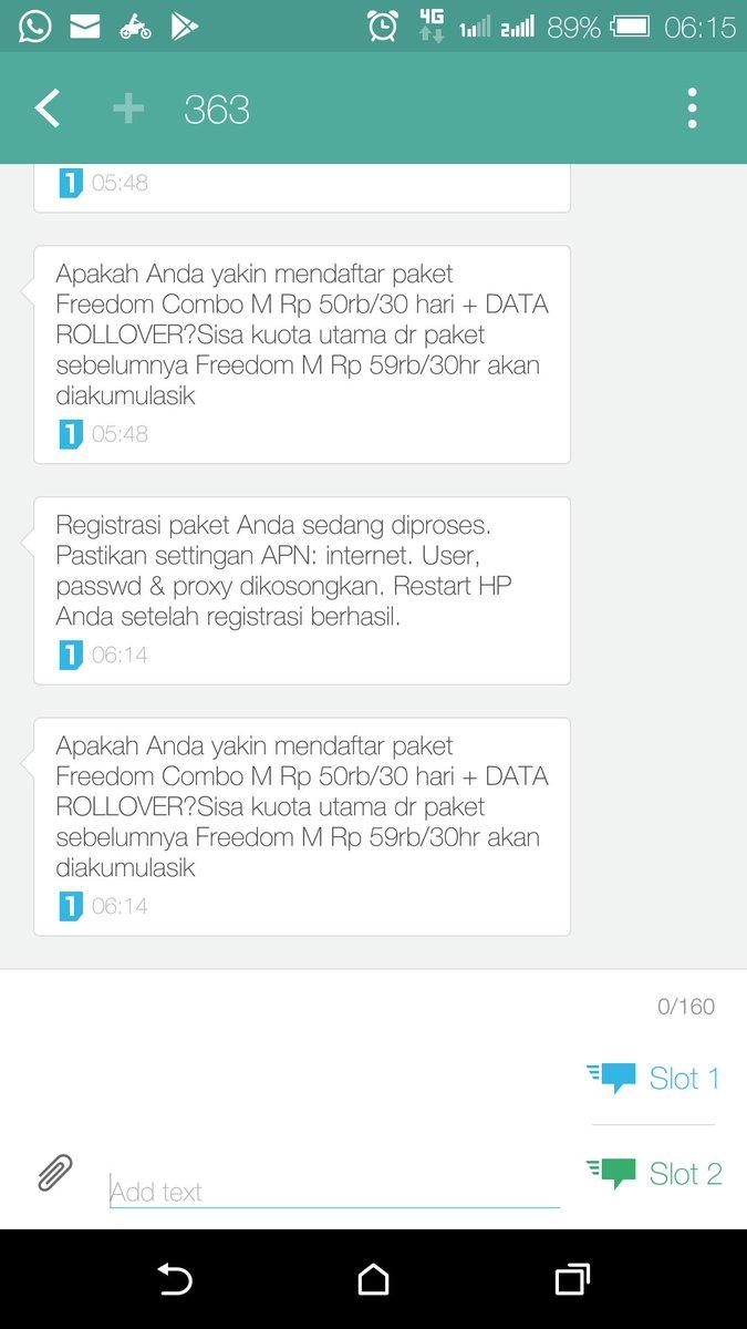 Agus Hariantoagus Twitter Profile Twipu Paket Freedom Combo M Indosatcare Sudah 4x Daftar Internet Combotp Jawabannya Selalu Beginidan