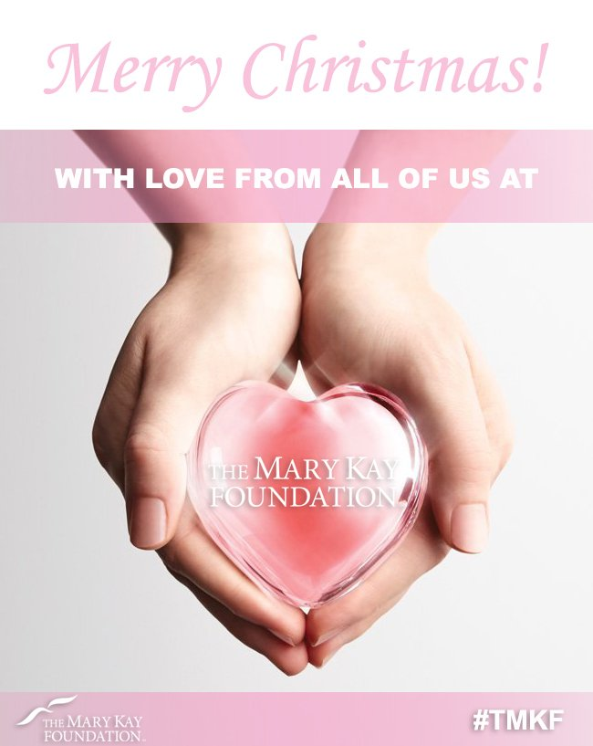 Mary Kay Christmas Images.The Mary Kay Foundation On Twitter Merry Christmas With