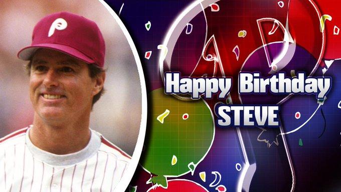 Happy Birthday to legendary pitcher Steve Carlton!