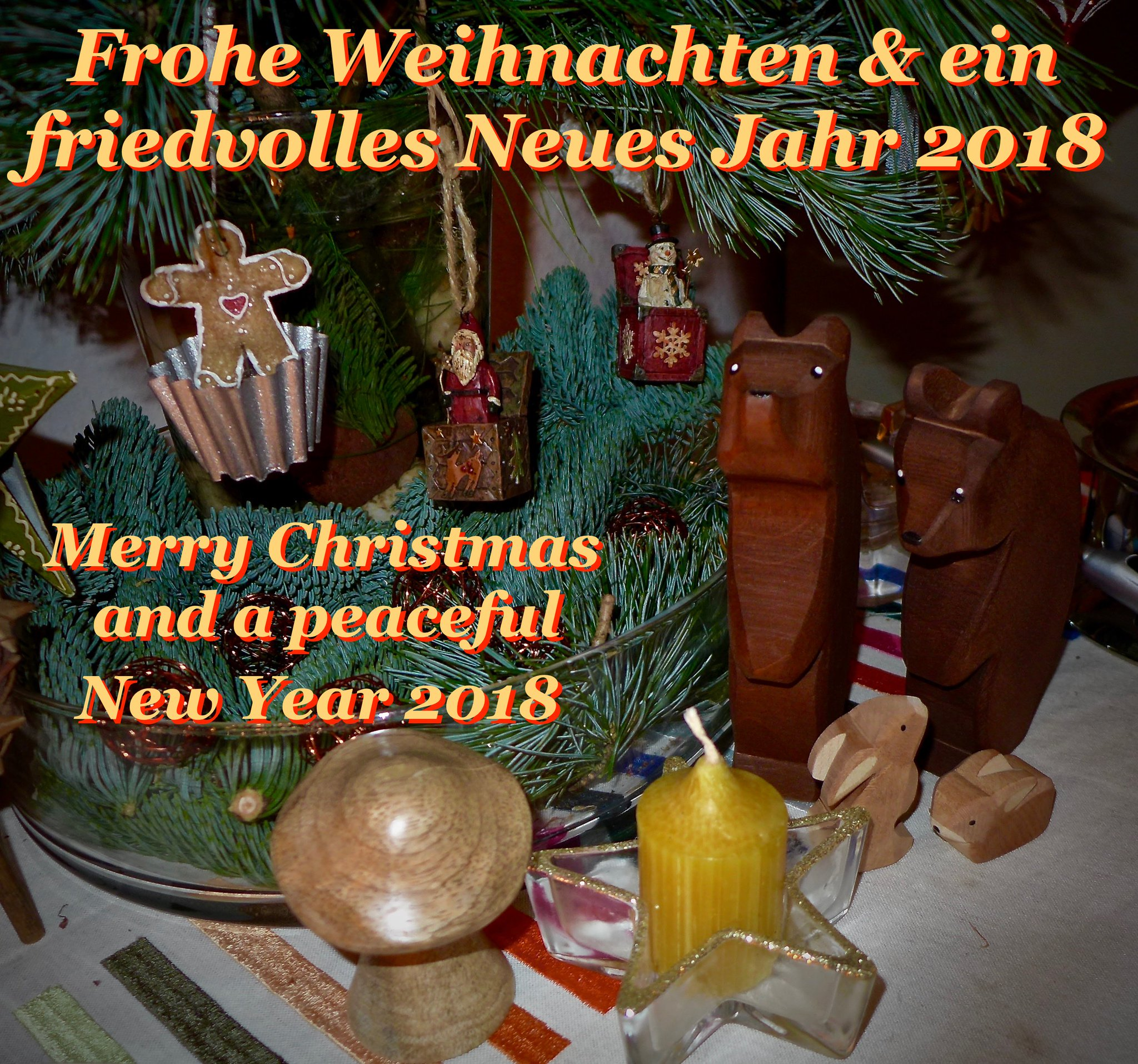 Merry Xmas & Happy New Year 2018