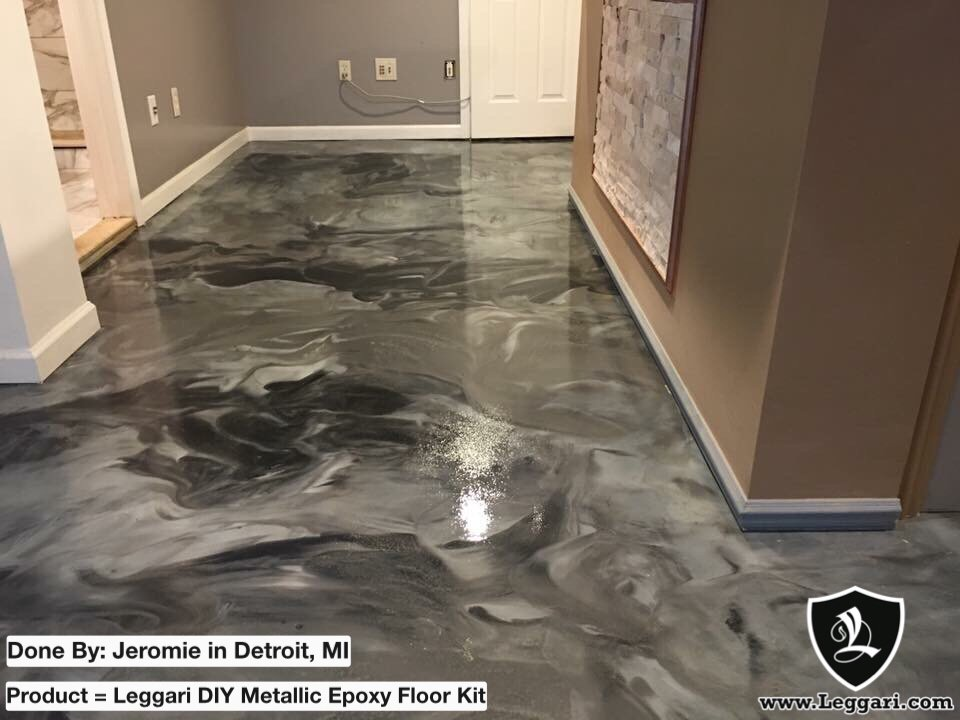 See What An Epoxy Floor Kit Can Do
