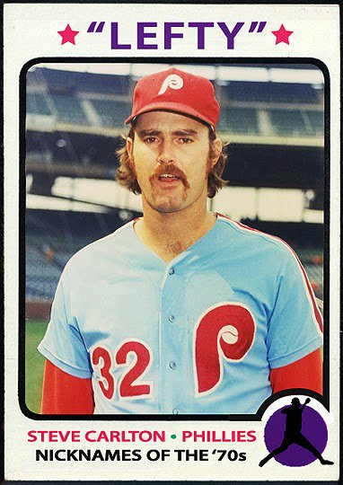 """Happy 73rd Birthday to \""""Lefty\"""" Steve Carlton!!! One of the all-time greats of the game."""