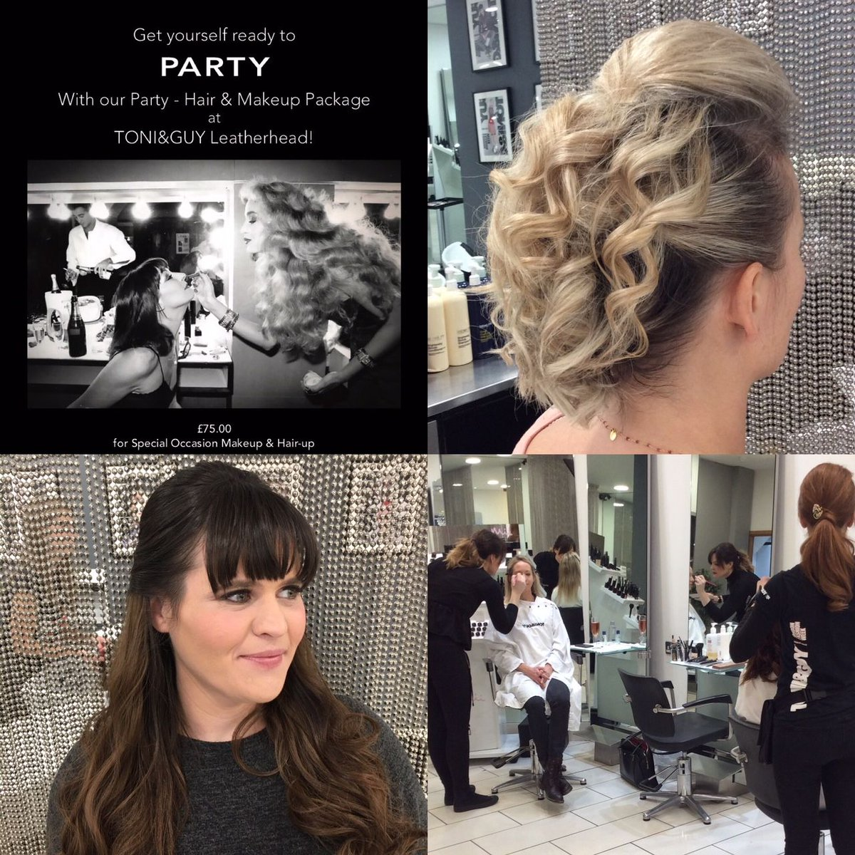 Toniguy leatherhead on twitter were loving our hair makeup toniguy leatherhead on twitter were loving our hair makeup packages book yours today tgleatherhead get yourself ready to party solutioingenieria Gallery