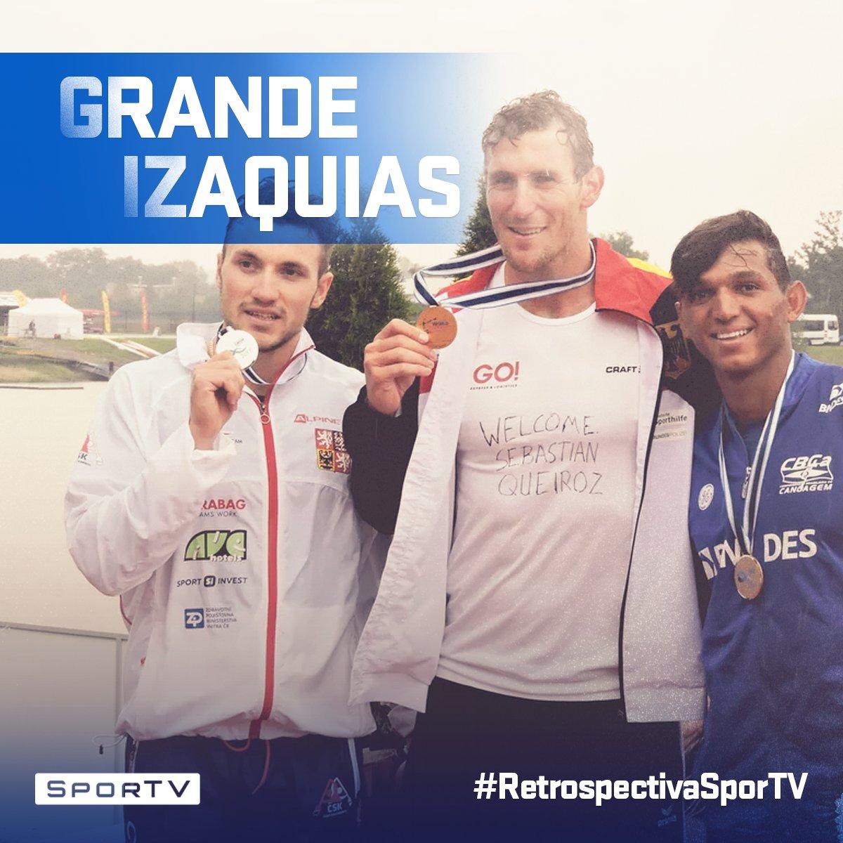 Maior medalhista em uma única Olimpíada, Isaquias Queiroz terminou o Mundial de Canoagem com uma medalha de bronze.   Fique por dentro dos principais acontecimentos de agosto de 2017 na #RetrospectivaSporTV!