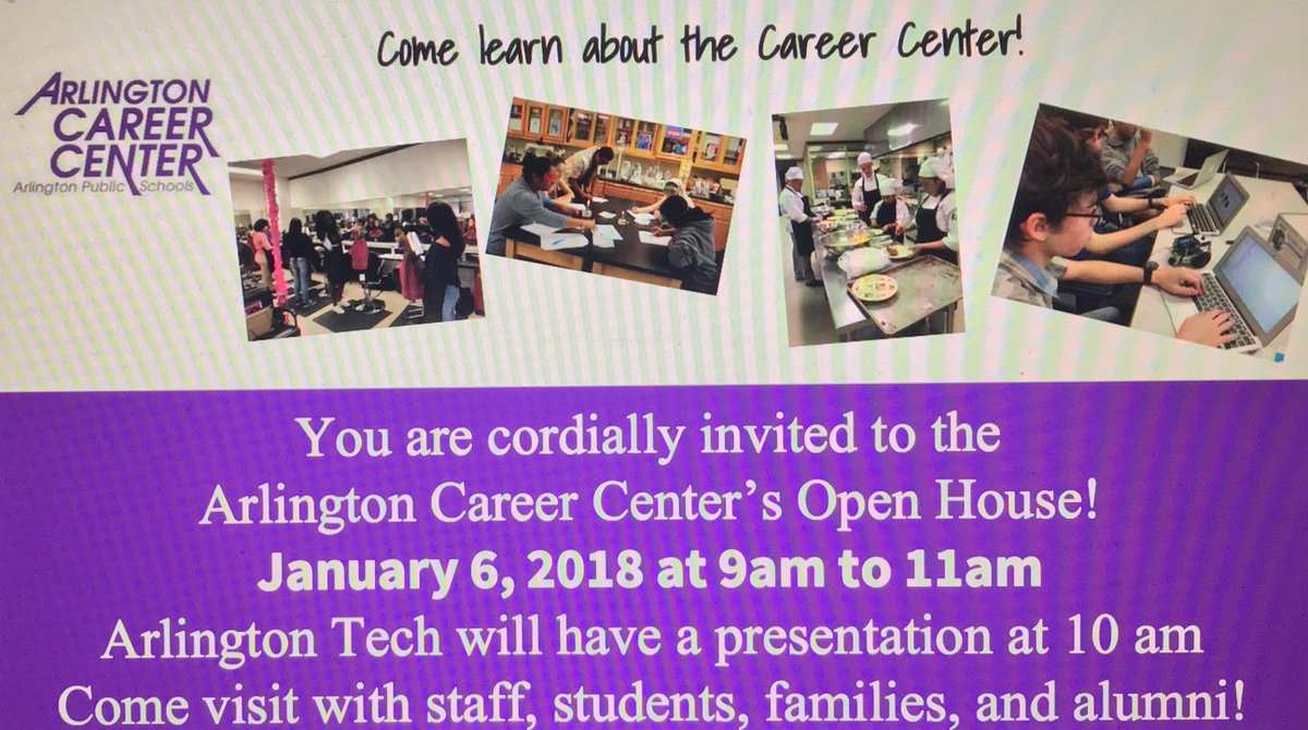 Arlington Career Center >> Aps Career Center On Twitter You Re Invited The Arlington Career