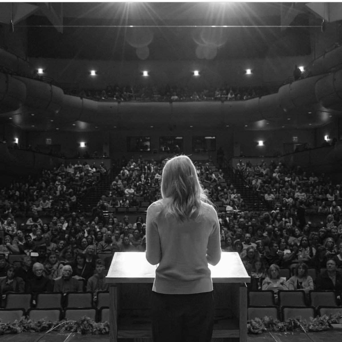 A few weeks ago I had the opportunity to speak at Idaho State University @idahostateu and was reminded of how important it is for each of us to be a little kinder to each other. Every person has a story. Every person needs kindness. #KindnessMatters #Kindness #elizabethsmart