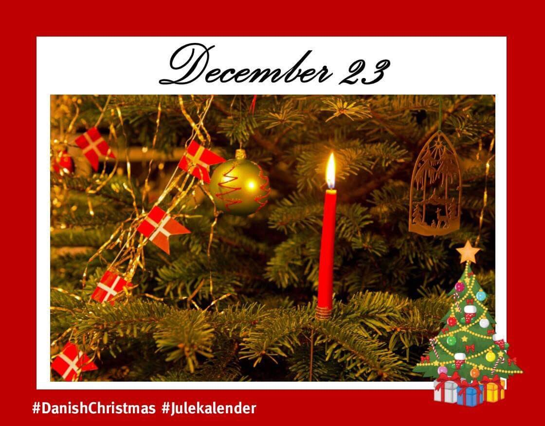 Denmark in ireland on twitter as decoration for the christmas the danish flag is called dannebrog in danish and is the oldest national flag in the world danishchristmas julekalenderpicitterama3srvsw4 m4hsunfo