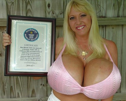 Guinness boob of records