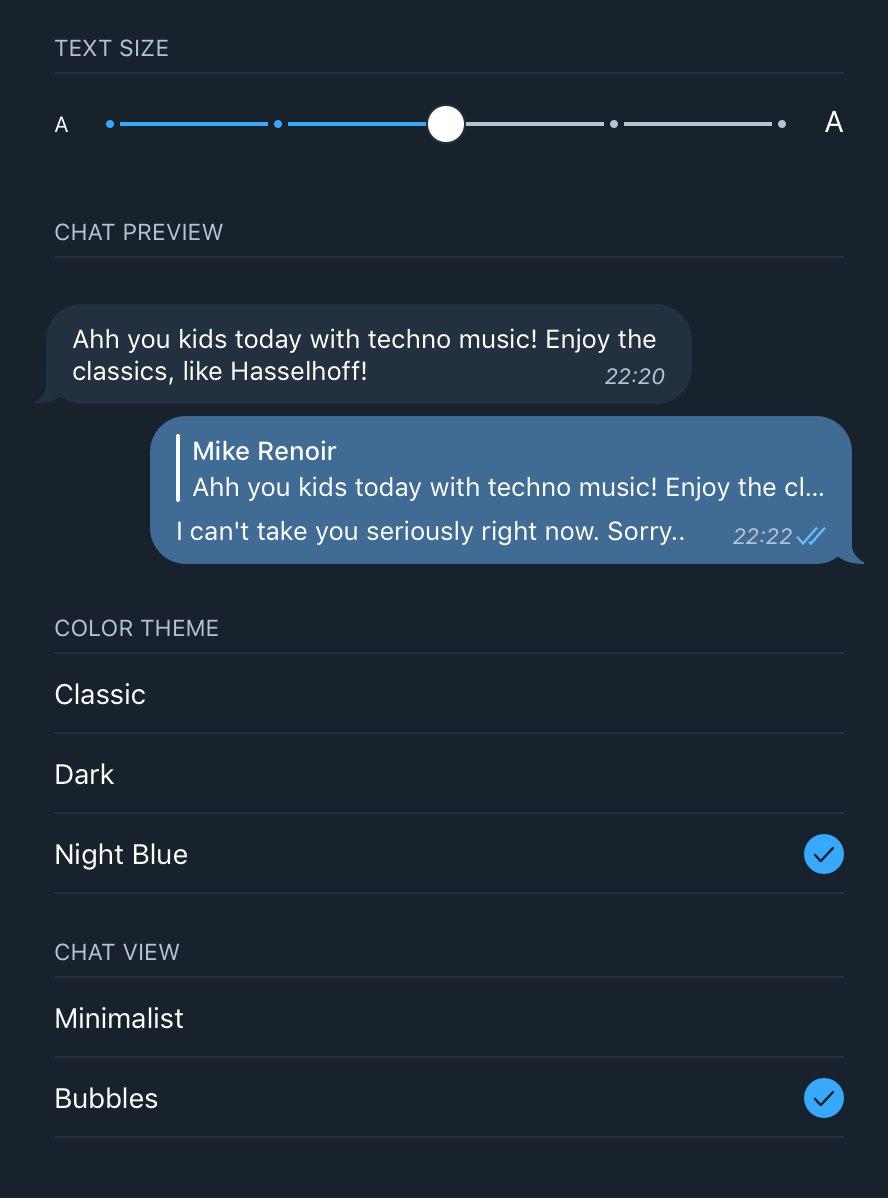 Telegram macOS on Twitter: