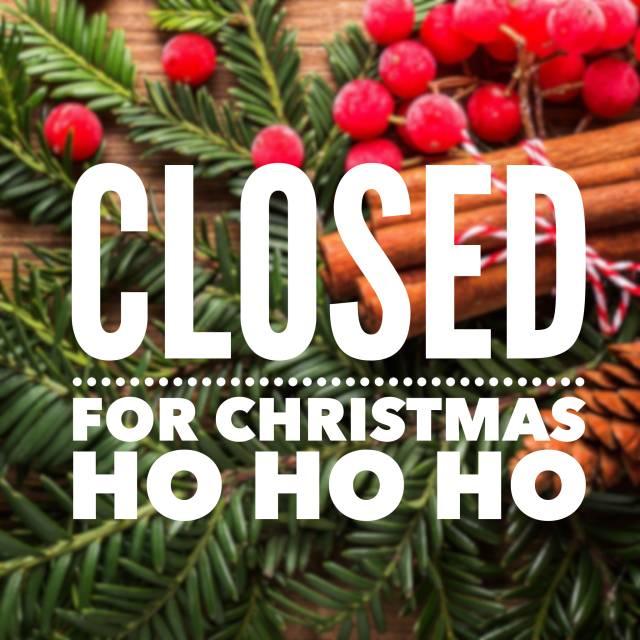 500 am 23 dec 2017 - Closed For Christmas