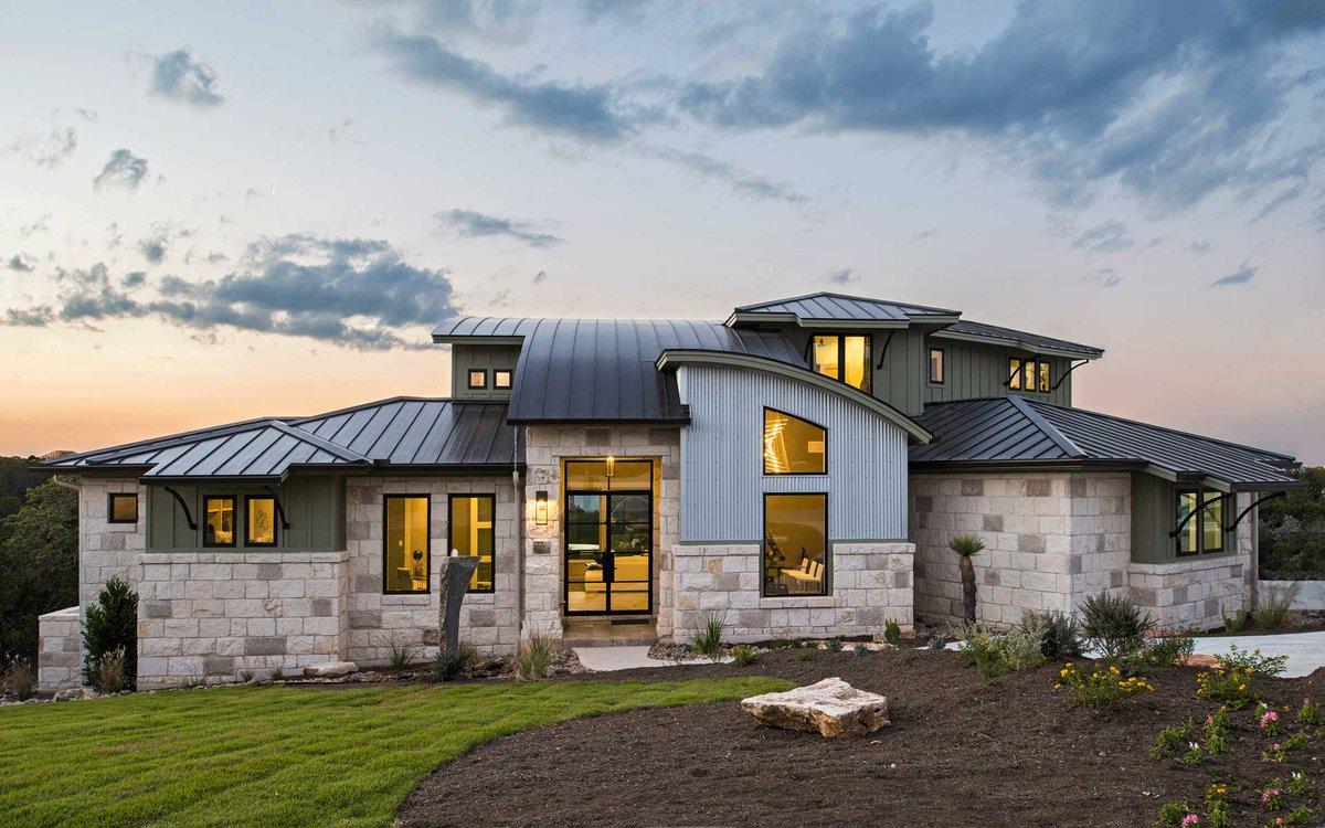modern ranch home - 1200×750