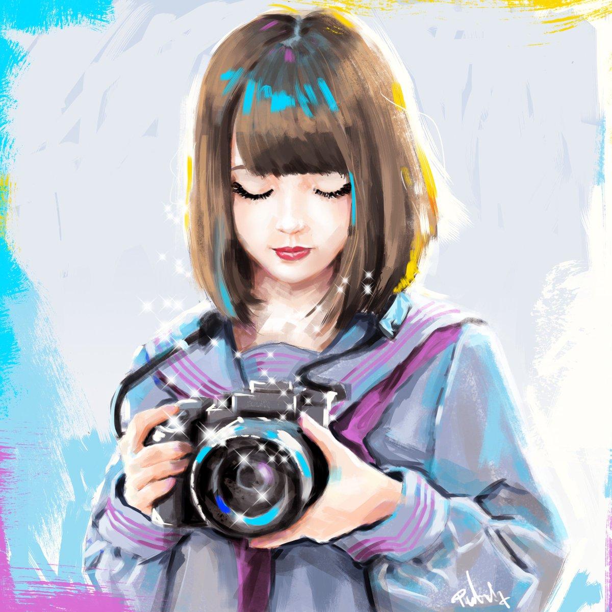 Картинки нарисованные фотограф