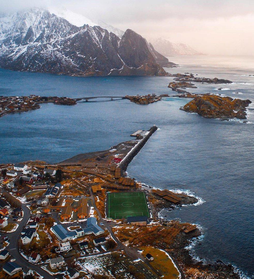 lofoten islands airport - 546×600
