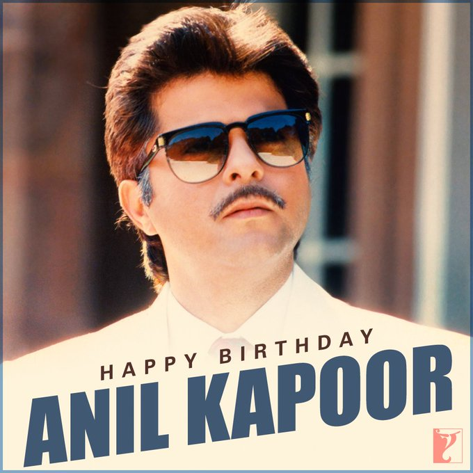 Happy birthday my frnd anil kapoor ...Both love u sir g
