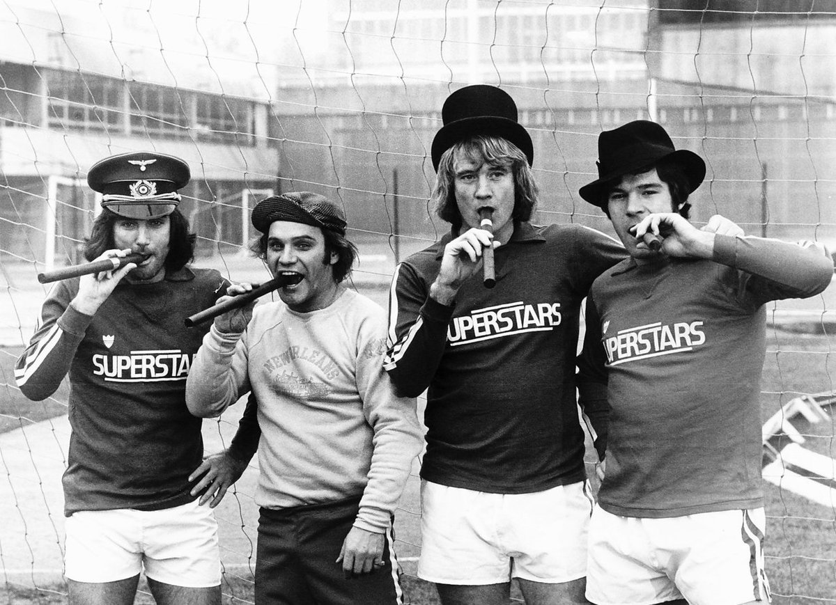 "Animal House""George Best, Freddie Star, Rodney Marsh and Malcolm Mac"
